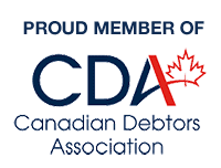 Proud Member of the Canadian Debtors Association